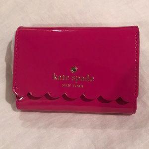 Late Spade Keyring Wallet